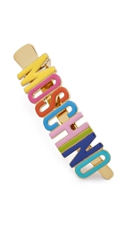 Moschino Hair Barrette Multi