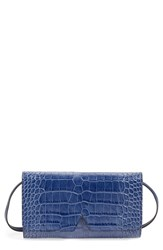 Vince Croc Embossed Convertible Clutch