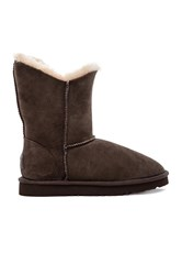 Koolaburra Double Halo Short Boot With Fur Brown