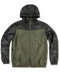 O'neill Men's Traveler Windbreaker Jacket Olive