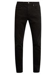 Frame L'homme Straight Leg Jeans Charcoal