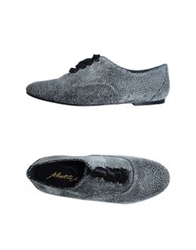 Alberto Moretti Arfango Arfango Alberto Moretti Lace Up Shoes Light Grey