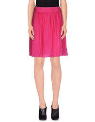 Gianfranco Ferre Gf Ferre' Knee Length Skirts Fuchsia