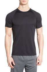 Men's Bpm Fueled By Zella 'Zeolite' Fitted Seamless T Shirt Black