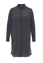 Hallhuber Mix And Match Long Blouse Black