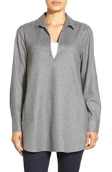 Women's Nordstrom Collection Flannel Tunic