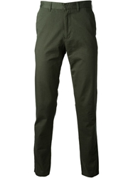 Tomas Maier Slim Fit Chinos Green