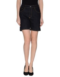 Blugirl Folies Denim Bermudas Blue