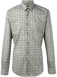 Fendi Cat Print Shirt Nude And Neutrals