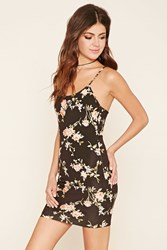 Forever 21 Open Back Floral Dress