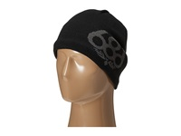 686 Wreath Fleece Beanie Black Knit Hats
