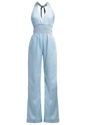 Guess Shiloh Sexy Jumpsuit Cote D'azur Light Blue