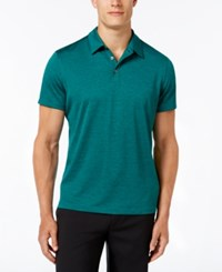 Alfani Big And Tall Ethan Performance Polo Alpine Jewel Combo
