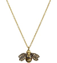 Annoushka Love Diamonds 18Ct Yellow Gold Bee Pendant Necklace