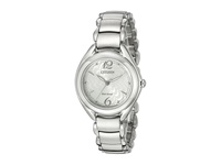 Citizen Fe2070 84A Eco Drive L Collection Silver Tone Stainless Steel Watches Bronze