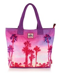 Superdry Summer Time Tote Purple