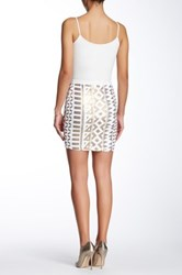 Tart Shreya Sequin Skirt White