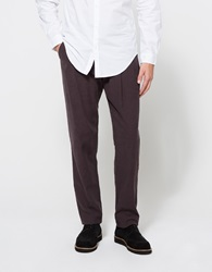 Shades Of Grey Pleated Pants Rosewood