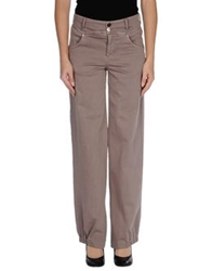 Oblique Casual Pants Dove Grey