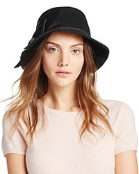 Kate Spade New York Dorothy Bucket Hat With Bow Black