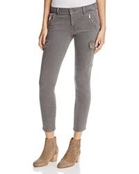 Mavi Jeans Juliette Cargo Pants In Grey Twill