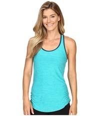 New Balance Perfect Tank Top Aquarius Heather Women's Sleeveless Blue