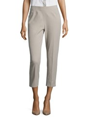 Peserico Side Zip Four Way Cropped Pant Beige