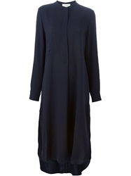 Studio Nicholson 'Robinson' Shirt Dress Blue