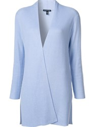 Eileen Fisher Open Front Cardigan Blue