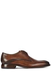 Oliver Sweeney Deliceto Chestnut Leather Derby Shoes
