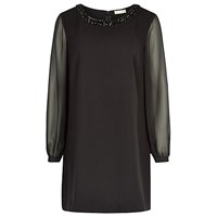 Planet Beaded Tunic Black