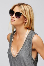 Free People Womens Dolce Vida Cat Eye Sungla