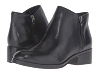 Cole Haan Hayes Flat Bootie Black Leather Women's Boots
