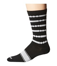 Wigwam Code Crew Black White Crew Cut Socks Shoes