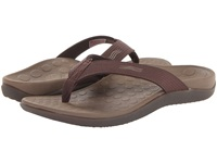 Vionic With Orthaheel Technology Wave Sandal Chocolate Shoes Brown
