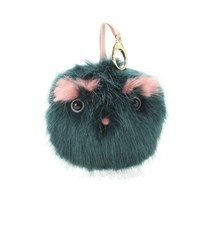 Shrimps Lionel Faux Fur Handbag Accessory Turquoise