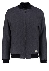 Tom Tailor Denim Bomber Jacket Pavement Grey Dark Grey
