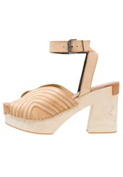 Free People Clogs Natural Sand