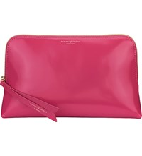 Aspinal Of London Essential Leather Cosmetic Case Camelia