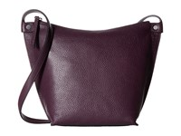 Ecco Sculptured Crossbody Mauve Cross Body Handbags Neutral