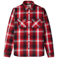 Carhartt Lawler Check Overshirt Red