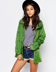 Hunter Festival Lightweight Raincoat Green