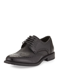 Robert Wayne Jace Leather Brogue Oxford Black