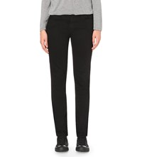 Alexander Wang Wang 002 Relaxed Fit Low Rise Jeans Black