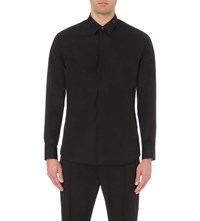 Dsquared Relax Dan Safety Pins Shirt Black