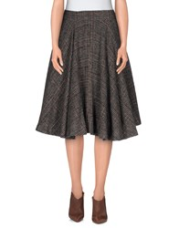 Erika Cavallini Semi Couture Erika Cavallini Semicouture Skirts Knee Length Skirts Women Skin Color