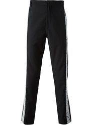 Unconditional 'Side Lace' Trousers Black