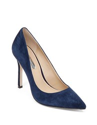 Bcbgeneration Treasure Suede Pumps Dark Blue