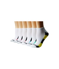 Steve Madden 12 Pack 1 2 Cushion Arch Support Sole Toe Contrast White Women's Low Cut Socks Shoes