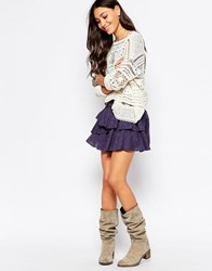 Pepe Jeans Tiered Mini Skirt 999